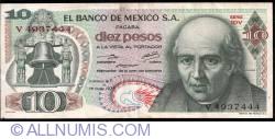 Image #1 of 10 Pesos 1975 (15. V.)