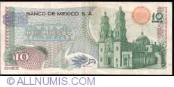 Image #2 of 10 Pesos 1975 (15. V.)