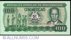 Image #1 of 100 Meticais 1983 (16. VI.)