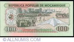 Image #2 of 100 Meticais 1983 (16. VI.)