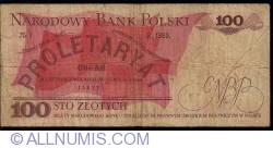 Image #2 of 100 Zlotych 1976 (17. V.)