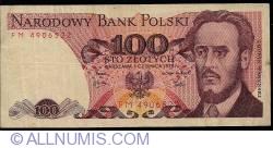 Image #1 of 100 Zlotych 1979 (1. VI.)