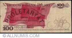 Image #2 of 100 Zlotych 1979 (1. VI.)