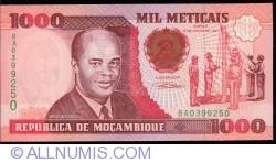 Image #1 of 1000 Meticais 1991 (16. VI.)