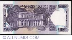 Image #2 of 1000 Nuevos Pesos ND(1992) - Serie D