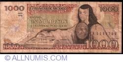 Image #1 of 1000 Pesos 1984 (30. X.) - Serie WG