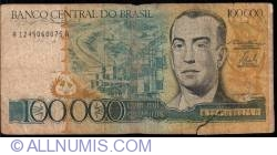 Image #1 of 100 000 Cruzeiros ND (1985)