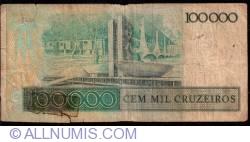 Image #2 of 100 000 Cruzeiros ND (1985)