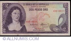 Imaginea #1 a 2 Pesos Oro 1976 (20. VII.)