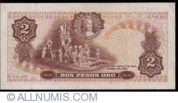 Imaginea #2 a 2 Pesos Oro 1976 (20. VII.)