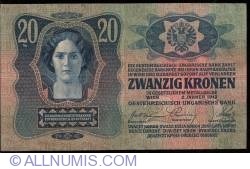 Image #1 of 20 Kronen 1913 (2. I.)