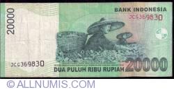 Image #2 of 20,000 Rupiah 2004/2008