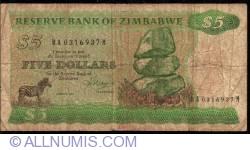 Imaginea #1 a 5 Dolari 1983