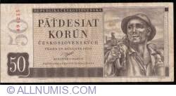 Image #1 of 50 Korun 1950