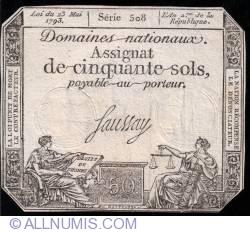 Imaginea #1 a 50 Sols 1793 (23. V.)