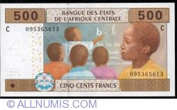 Image #1 of 500 francs 2002 C, sign Jean Félix Mamalepot