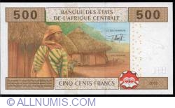 Image #2 of 500 francs 2002 C, sign Jean Félix Mamalepot