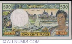 Image #1 of 500 Francs ND (2008)
