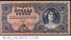 Imaginea #1 a 500 Pengo 1945 (15. V.)