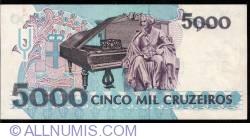Imaginea #2 a 5,000 Cruzeiros ND (1993)