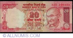 Image #1 of 20 Rupees 2008 - E
