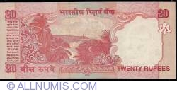 Image #2 of 20 Rupees 2008 - E