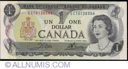 Imaginea #1 a 1 Dollar 1973 - semnături Crow / Bouey