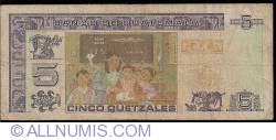 Image #2 of 5 Quetzales 1993