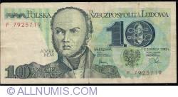 10 Zlotych 1982 (1. VI.)