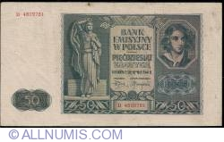 Image #1 of 50 Zlotych 1941 (1. VIII.)
