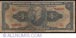 Image #1 of 5 Cruzeiros ND (1943)