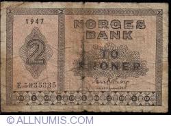 Imaginea #1 a 2 Kroner 1947