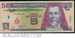 Image #1 of 5 Quetzales 2008 (12. III.)