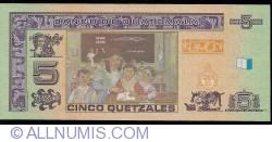 Image #2 of 5 Quetzales 2008 (12. III.)