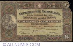 Image #1 of 5 Franken 1946 (31. VIII.)
