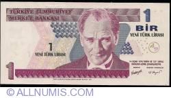 1 New Lira 2005 - signatures Süreyya SERDENGEÇTİ / Sedef AYALP