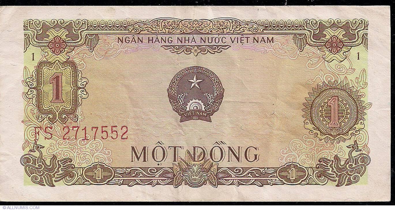 VIET NAM  P 80 a  P80a  1 DONG  1976  aUNC+