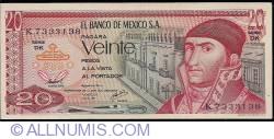 Image #1 of 20 Pesos 1977 (8. VII.) - Serie DK