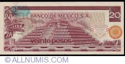 Image #2 of 20 Pesos 1977 (8. VII.) - Serie DK