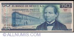 Image #1 of 50 Pesos 1979 (17. V.) - Serie GZ