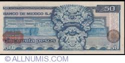 Image #2 of 50 Pesos 1979 (17. V.) - Serie GZ