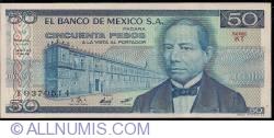 Image #1 of 50 Pesos 1981 (27. I.) - Serie KT