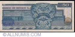 Image #2 of 50 Pesos 1981 (27. I.) - Serie KT