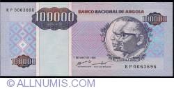 Imaginea #1 a 100 000 Kwanzas Reajustados 1995 (1. V.)