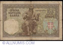 50 Dinara 1941 (1. VIII.)