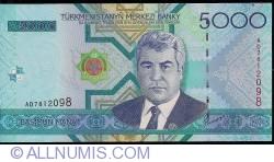 Image #1 of 5000 Manat 2005