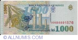 1000 Lei 1998 - Big BNR watermark