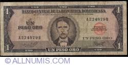 Imaginea #1 a 1 Peso Oro ND (1964-1973)