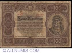 Imaginea #1 a 100 Coroane 1920 (1. I.)