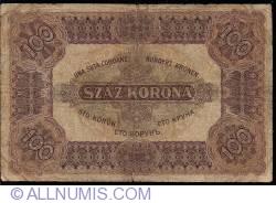 Imaginea #2 a 100 Coroane 1920 (1. I.)